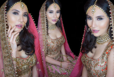 BTS INDIA'S BRIDE MAKEUP WITH NATASHA