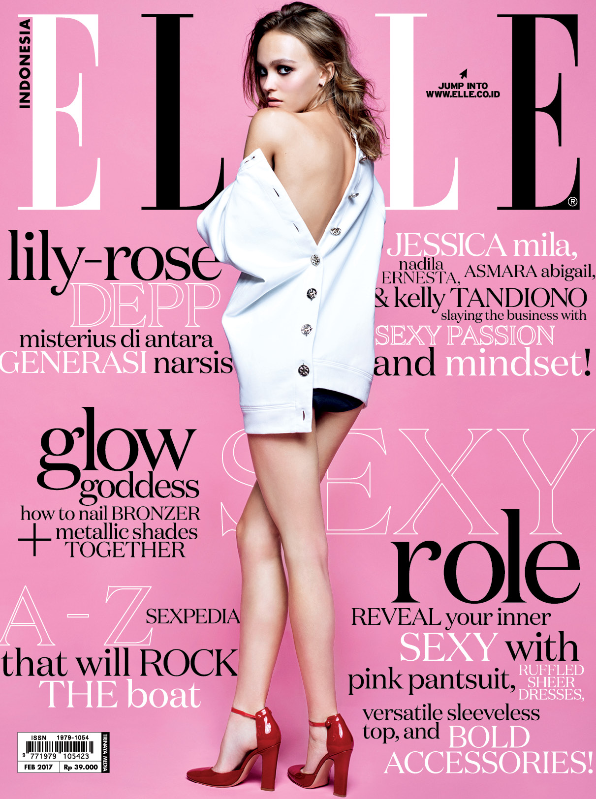 ELLE Indonesia Cover Februari 2017