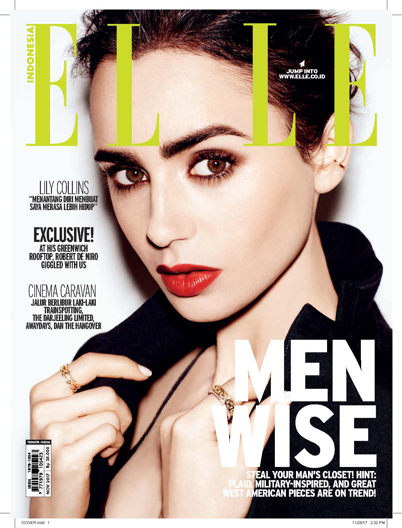 ELLE Indonesia Cover November 2017
